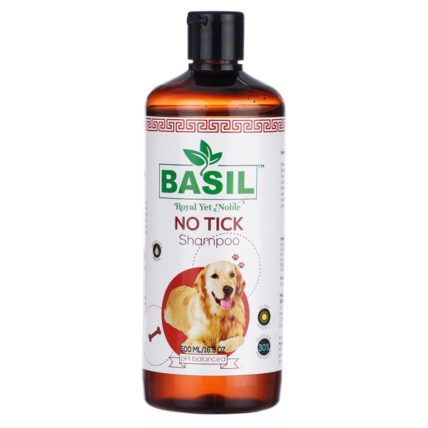 Basil No Tick Shampoo 500 ML