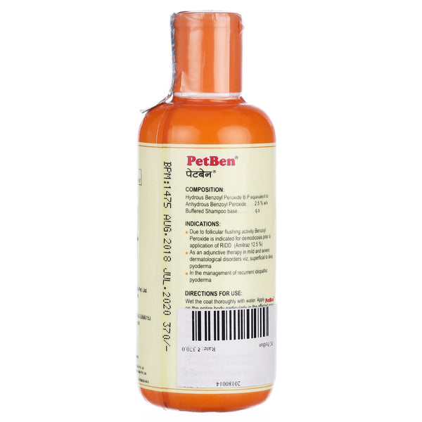 Pet Care PetBen 200 ML Medicated Shampoo