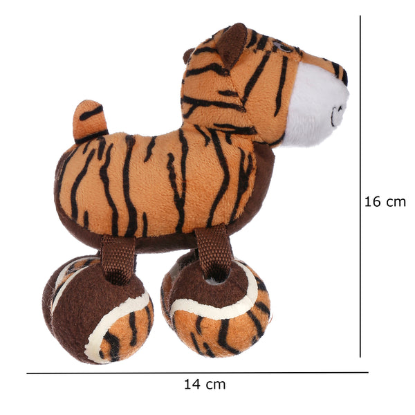 Kong SqueakyTenni Shoes Tiger Small