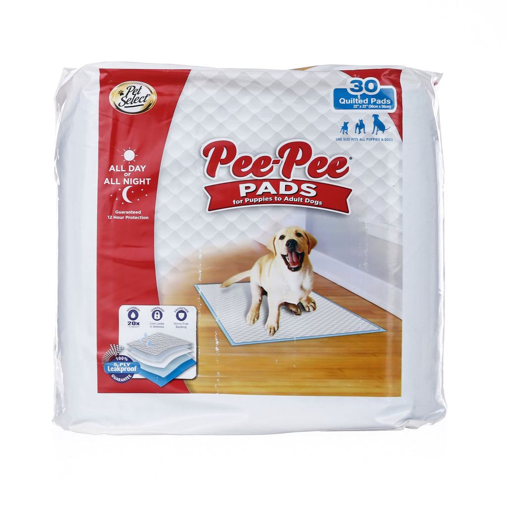 Pet Select Pee Pee Pads 30 Pcs