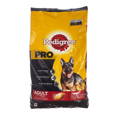 Pedigree Pro Active Adult Dog Food