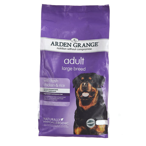 Arden Grange Adult Dog Food Chicken & Rice - 2kG