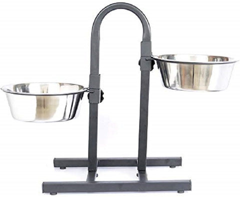 "Adjustable Feeding Bowl Stand ""U"" Type"