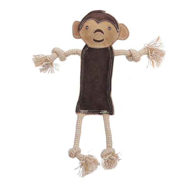 Wiggly Monkey (Suede Leather Face)