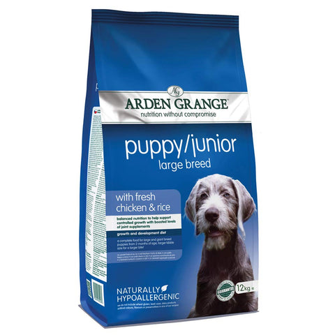 Arden Grange Puppy Junior With Fresh Chicken and Rice Dog Food