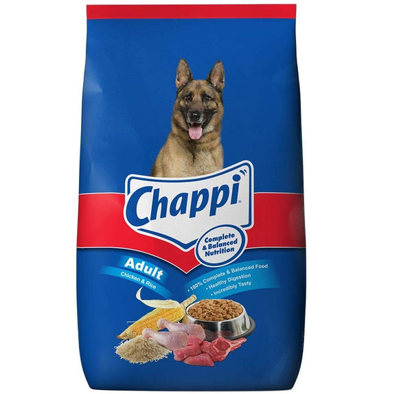 Chappi Adult Dry Dog Food, Chicken & Rice, 20kg