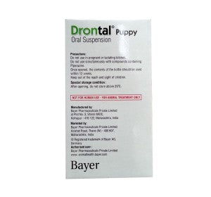 Bayer Drontal Dewormer for Puppies 20 ml