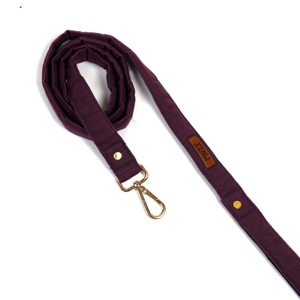 Mutt Of Course Purple Leash