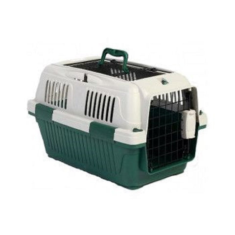 Nutrapet Pet Carrier Box Top Load - Green