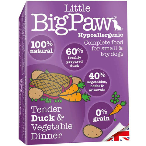 Little Big Paw Duck Small Breed (7x150 g) - Pack of 7