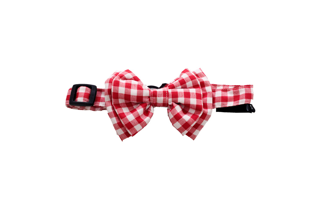 Mutt Of Course Checkmate Bow Tie