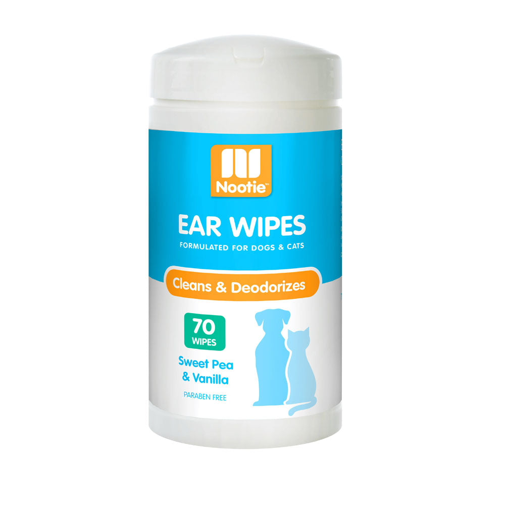 Nooties Ear Wipes Sweet Pea & Vanilla 70 Pcs