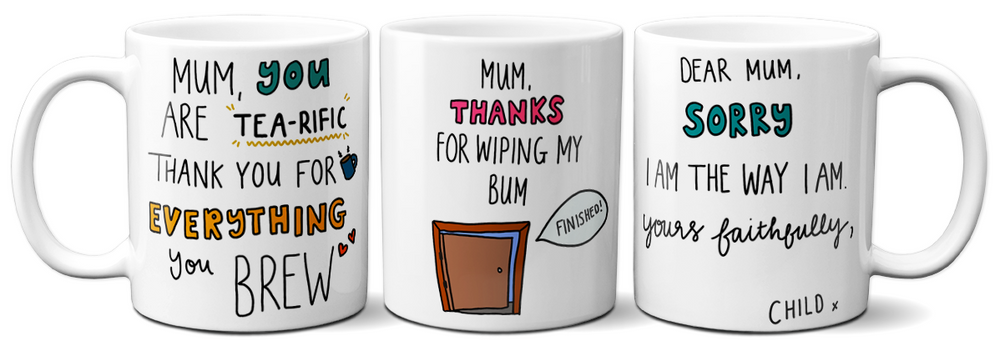 Maaaarvelous mugs for Mother's Day