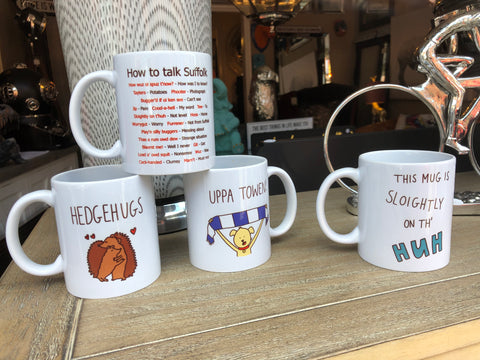 Dirty Old Goat mugs at The House in Town