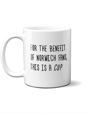 Load image into Gallery viewer, norwich fans cup