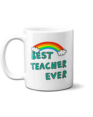 Load image into Gallery viewer, best teacher ever mug