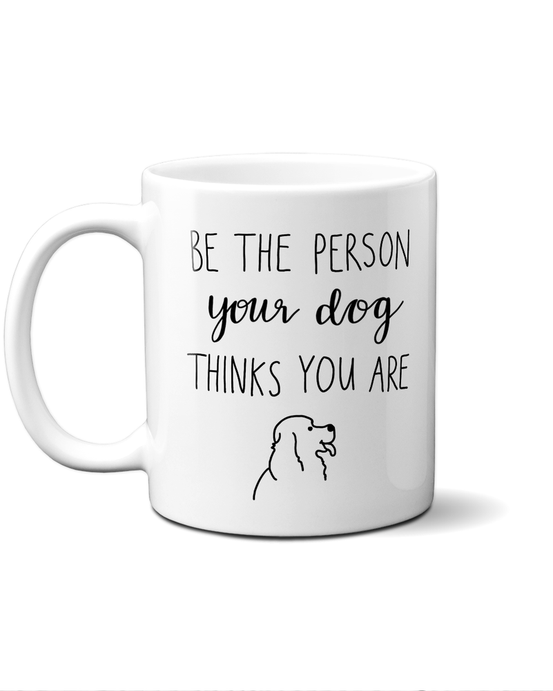 person your dog thinks you are mug