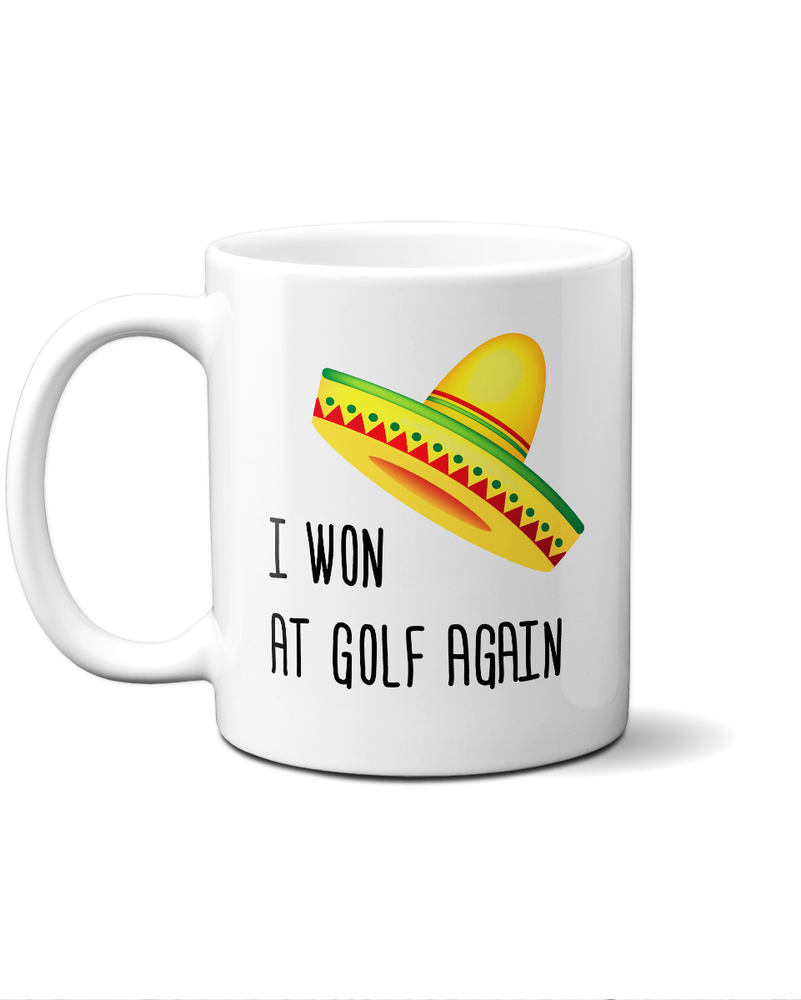 bandit golf mug