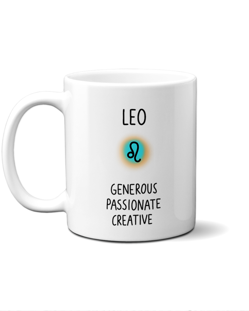 Load image into Gallery viewer, Leo star sign mug