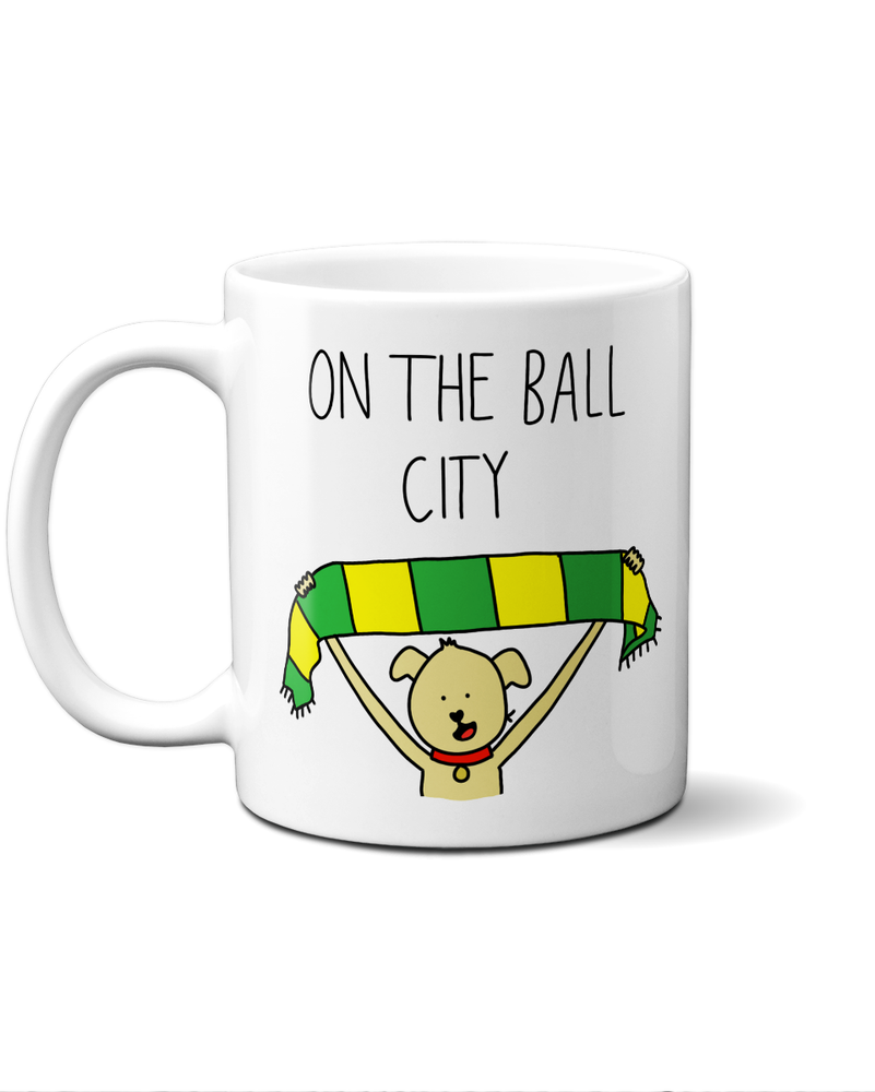 Load image into Gallery viewer, Norwich football mug