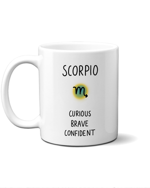 Load image into Gallery viewer, Scorpio star sign mug