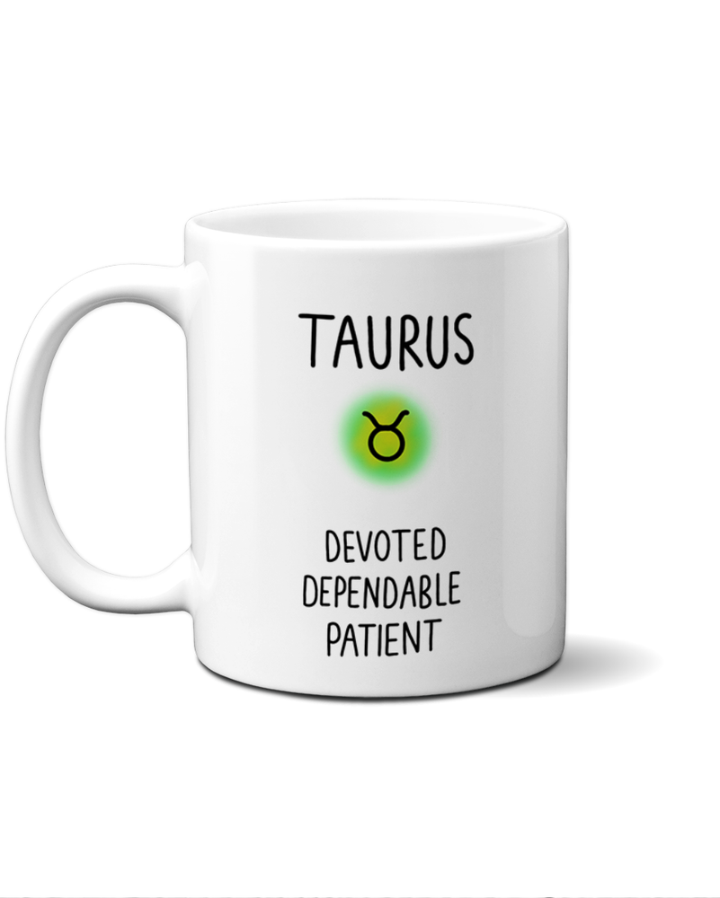 Load image into Gallery viewer, Taurus star sign mug