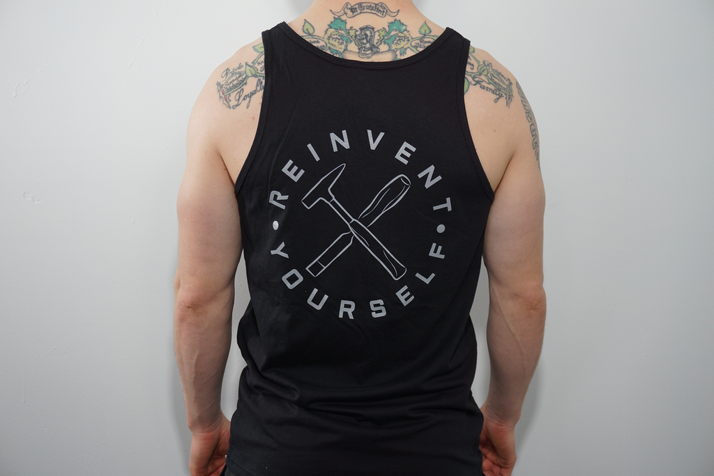 "Athletic Muscle Shirt - ""Hammer & Chisel"""