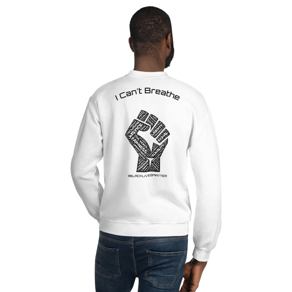 "TP Sweater - ""I CAN'T BREATHE"""