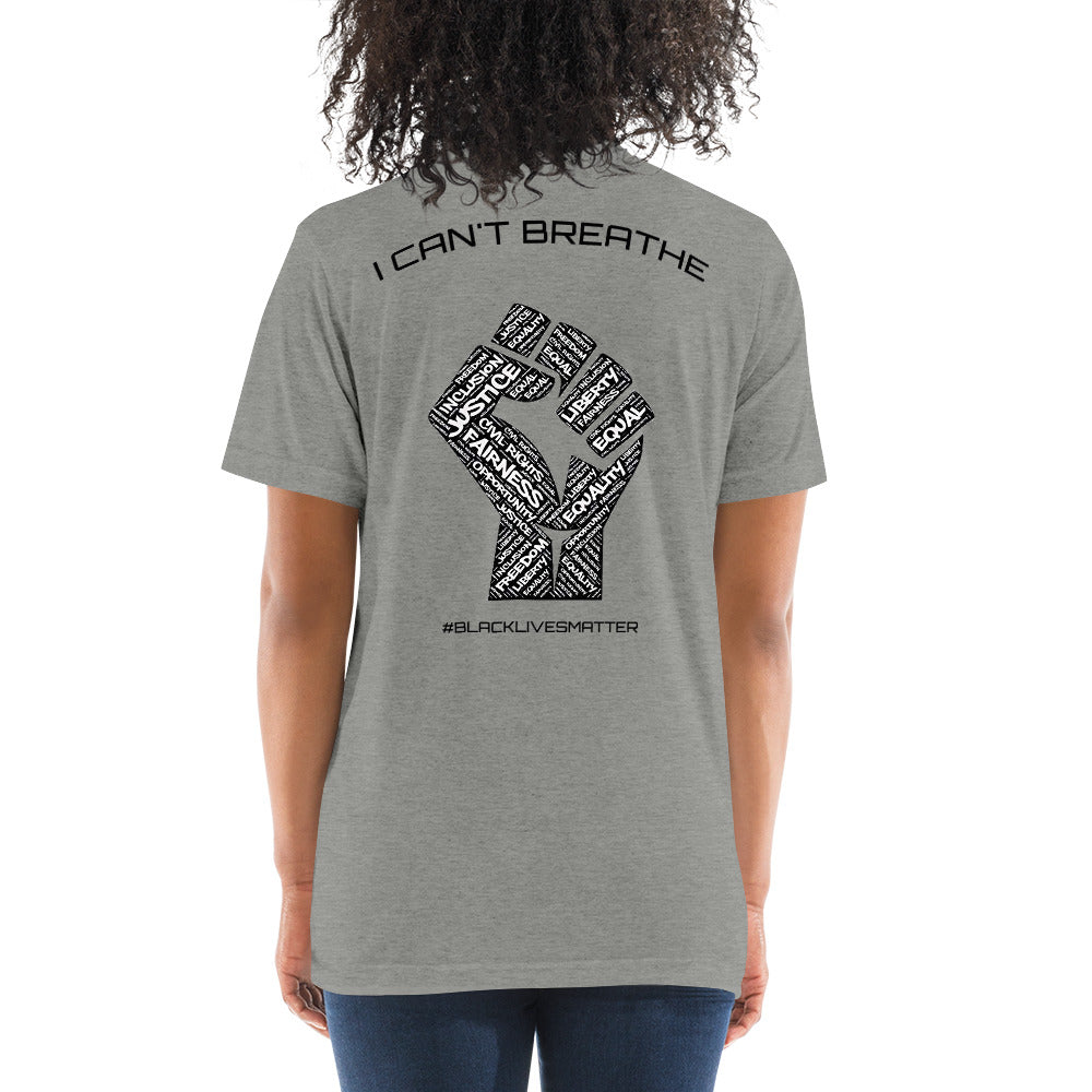 "TP - Short Sleeve T-shirt - ""I CAN'T BREATHE"""