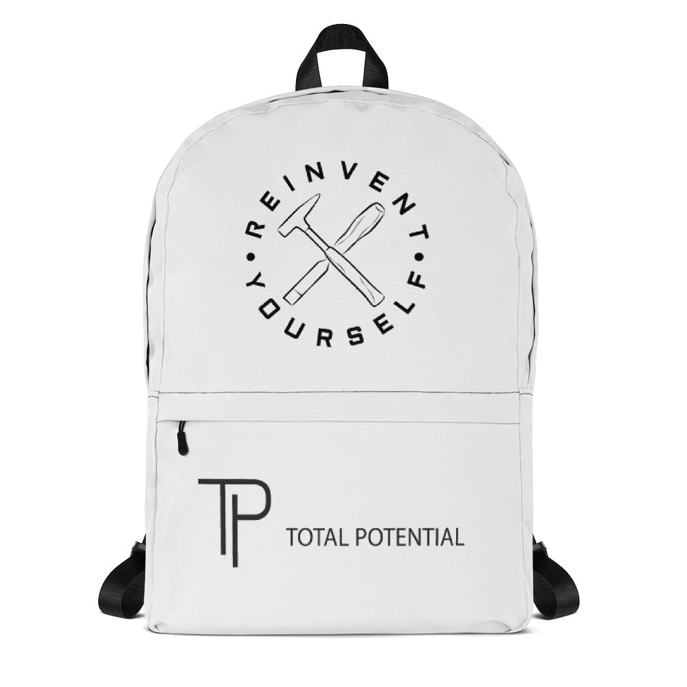 Total Potential Backpack - White