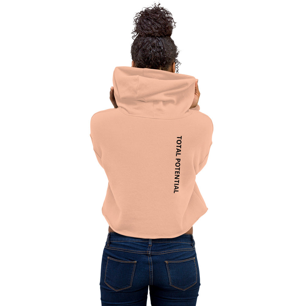 TP - Reinvent Yourself Cropped Hoodie
