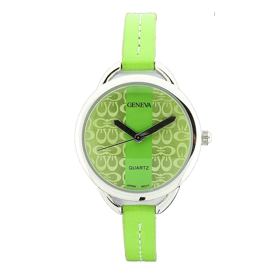 SMALL SIZE G LETTER FASHION STRAP WATCH