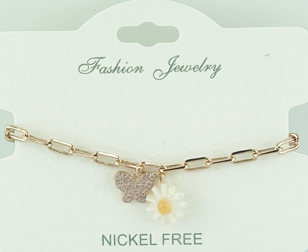 Crystal Adjustable Chain Bracelet