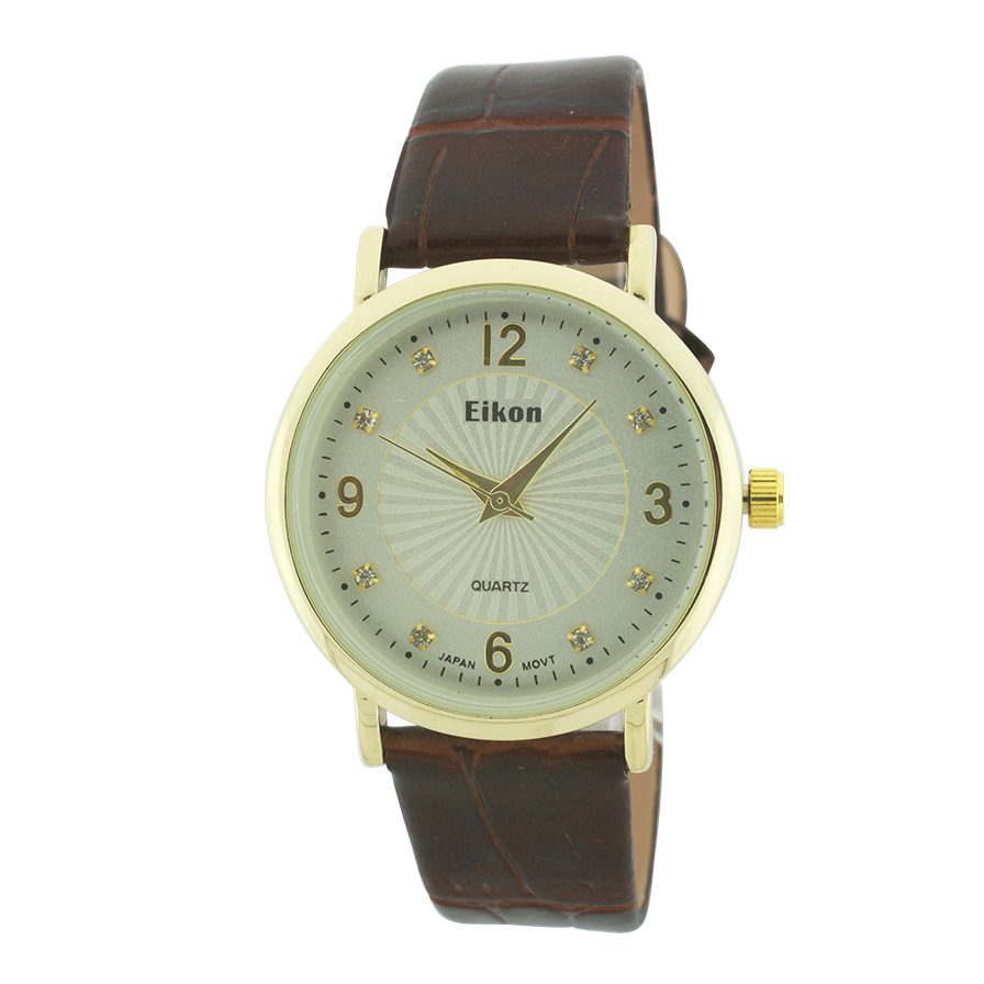 Small Simple Design Small Round Face Strap Watch