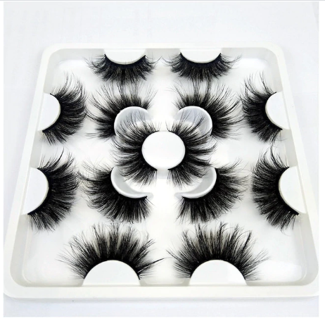 14 pairs 8D-003 25mm eyelashes 3d mink lashes natural long eyelashes false eyelashes makeup eyelash extension