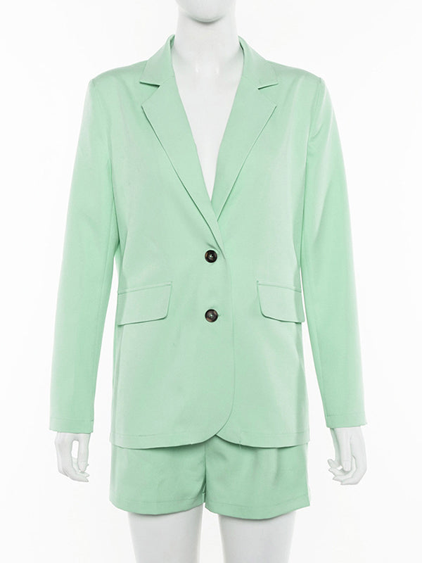Fashion Long Sleeve Blazer Suits For Women