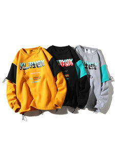 Hip Hop Loose Drawstring Cool Sweatshirts