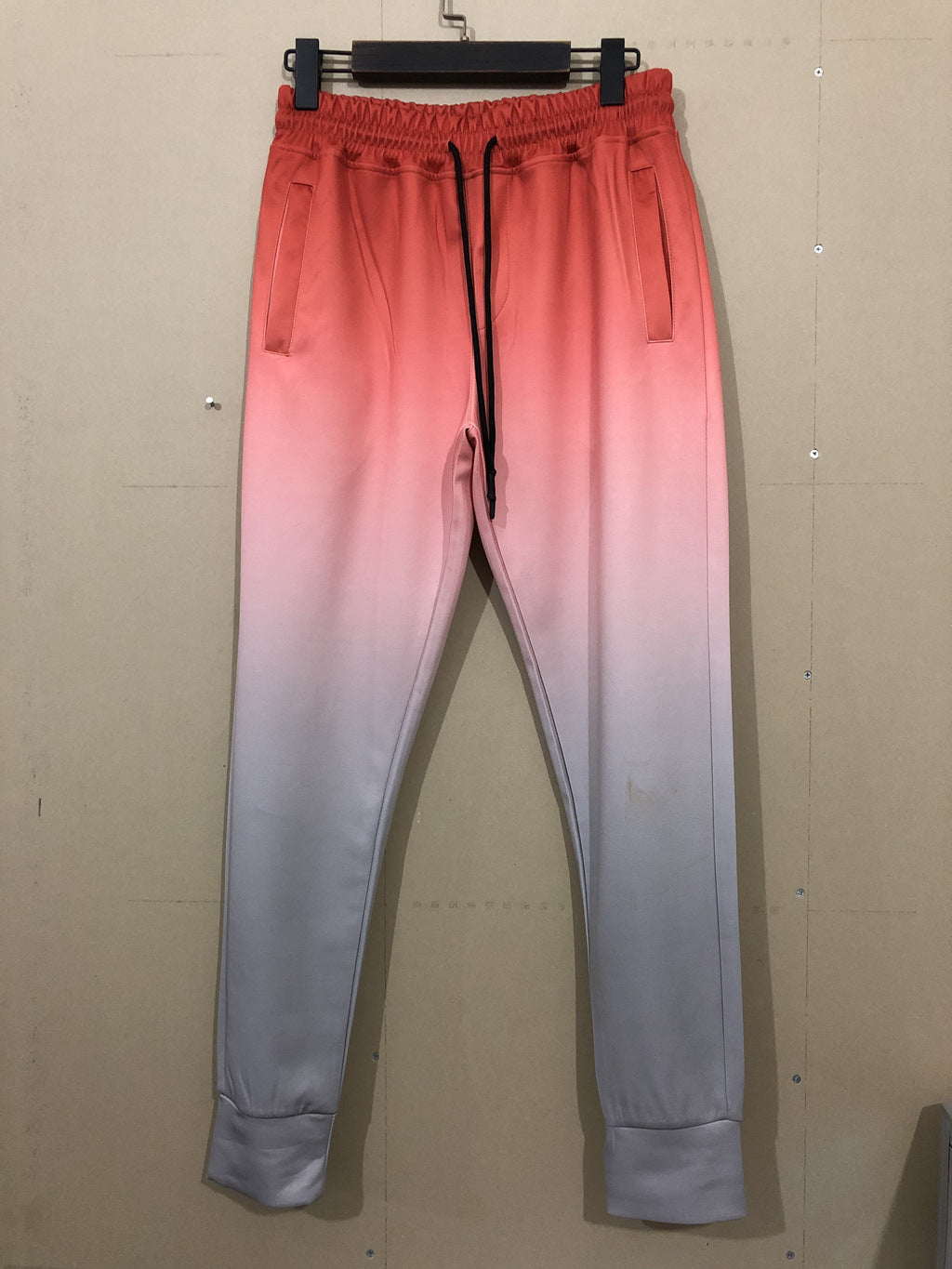 Winter Gradient Color Slim Fit Mens Pants