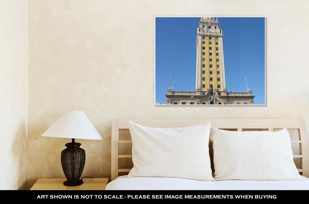 Gallery Wrapped Canvas, Freedom Tower In Miami Florida