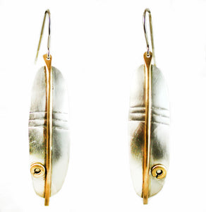 E3463 Silky Satin Earrings.