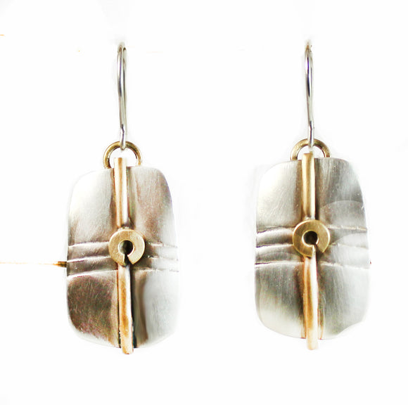 E3464 Silky Satin Earrings.