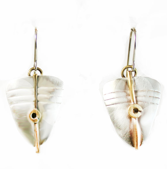 E3465 Silky Satin Earrings.