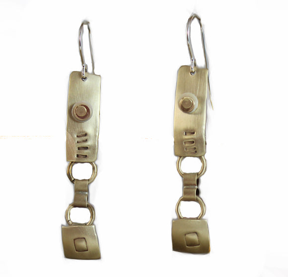 E3585 Markings Earrings