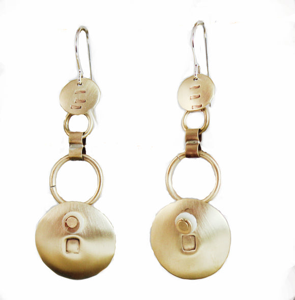 E3587 Markings Earrings