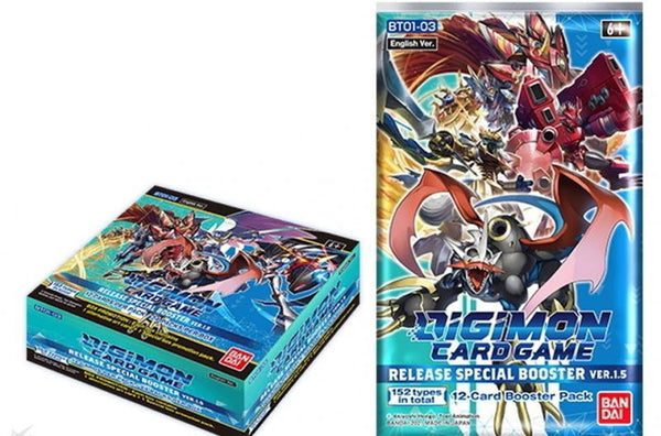 Digimon TCG: Release Special Booster Display Ver. 1.5 (24)