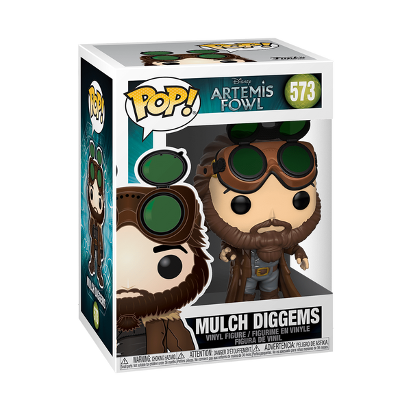Funko Pop Artemis Fowl Mulch Diggems