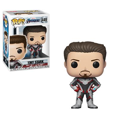 Funko Pop Bobble-Head Marvel Avengers (Iron Man Quantum Realm Suit) #449