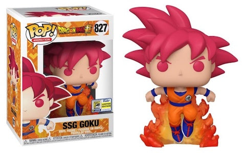 **Pre-Order** Funko Pop Animation Dragon Ball Super SSG Goku  SDCC 2020