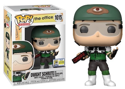 Funko Pop TV The Office Dwight Schrute as Recyclops SDCC 2020 (Shared)