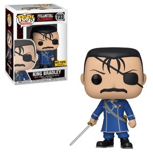 Funko Pop Animation Full Metal Alchemist King Bradley (Hot Topic Exclusive)